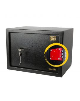 16L Home Security Safe Box with Triple Blade Lock®